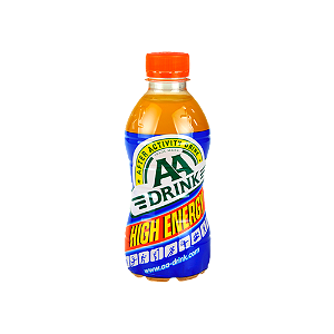 Foto AA Drink Original High Energy Fles 330ml
